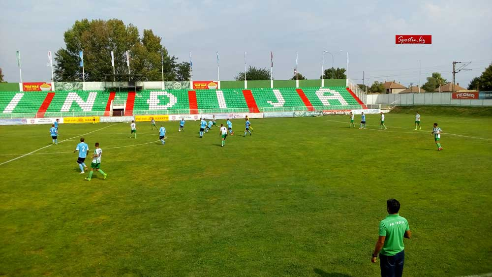 Inđija - Spartak Ždrebčeva Krv 2: 0 (1: 0)