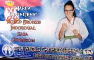 Medalja sa Svetskog Šotokan Karate Prvenstva za Sensei Inđija