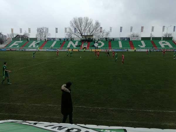 Inđija - Voždovac 3: 0 (1: 0)