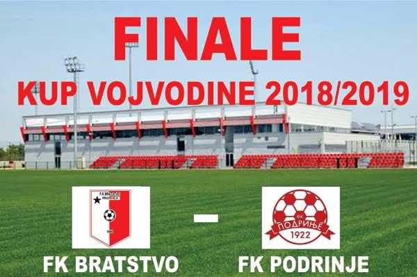 Finale Kupa Vojvodine ipak u Staroj Pazovi