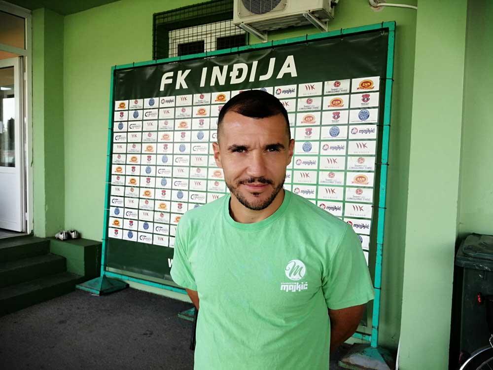 Brana Ilić ponovo na stadionu Partizana