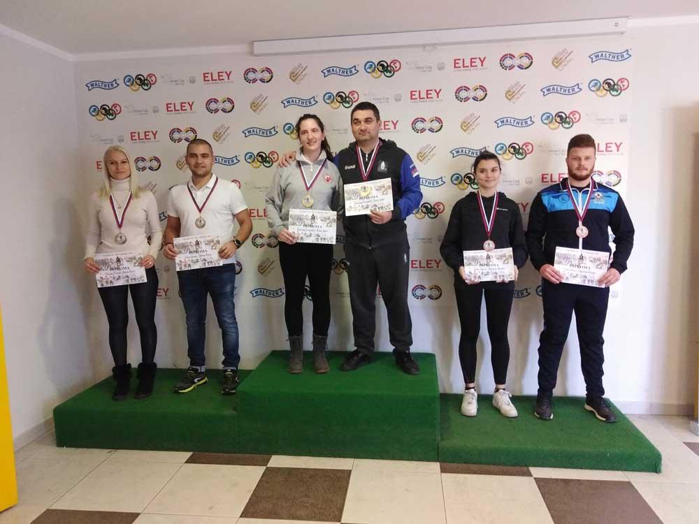 Dve medalje za strelce Mladosti na Vojvodina Кupu