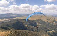Letenje Petra Lončara iznad Zlatibora